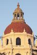 Detailed image of the Pasadena City Hall main tower.