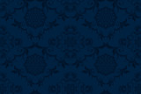 Seamless luxury decorative ornament on background. Luxurious floral ornament on background. Seamless wallpaper pattern. Trendy wallpaper pattern - 210288259