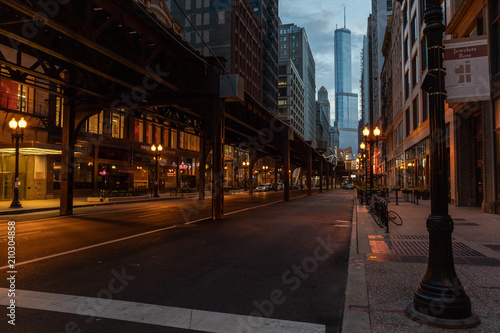 Fotobehang Chicago Chicago, Illinois, USA