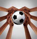 People Soccer Together - 210312802