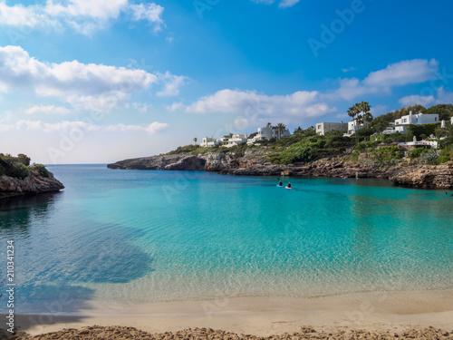 Aluminium Tropical strand Tropical beach in Mallorca island