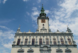 A beautiful renaissance town hall on the market square in Chełmno, Poland