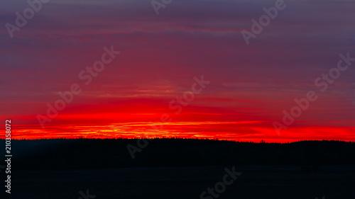 Aluminium Aubergine sunset sky background light sunrise nature for design