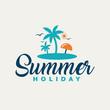 Summer holiday design.