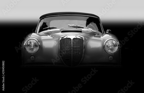 Foto Murales Altes Klassisches Cabriolet