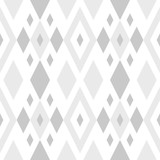 Linear seamless abstract background with rhombuses. Striped infinity geometric pattern.  Vector illustration. - 210452005