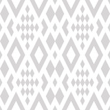 Linear seamless abstract background with rhombuses. Striped infinity geometric pattern.  Vector illustration. - 210452023