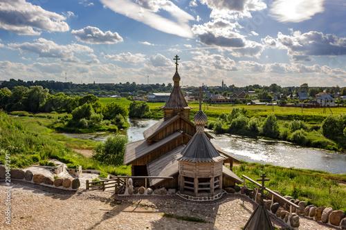 Courtyard of the Borovsko-Pafnutievsky Monastery