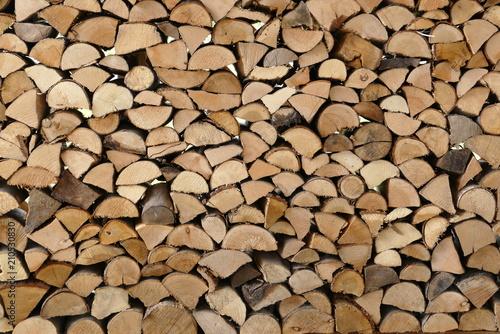 Holz, Holzspapel, Schichtholz, Kaminholz, Brennholz 2 - 210530830