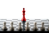 Chess business concept, leader teamwork & success - 210581270