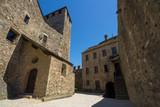 Interno del Castello di Montebello, Bellinzona, Svizzera - 210591615