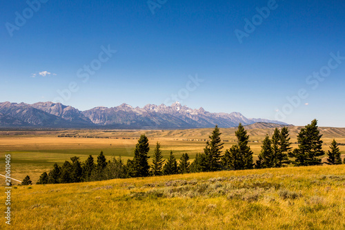 Aluminium Bergrivier Grand Teton National Park