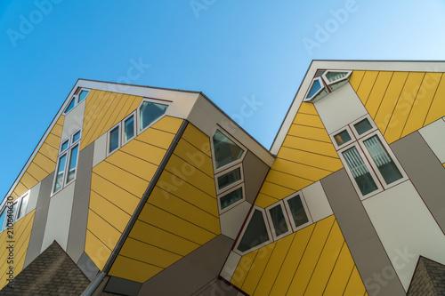 Fotobehang Rotterdam Cube houses in Rotterdam