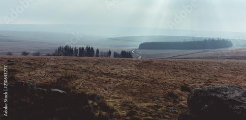 Aluminium Chocoladebruin Dartmoor in the Winter