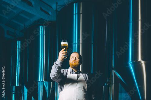 Fototapeta brewery brewer beer factory