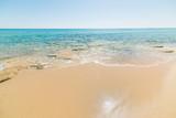 Golden shore in Piscina Rei beach