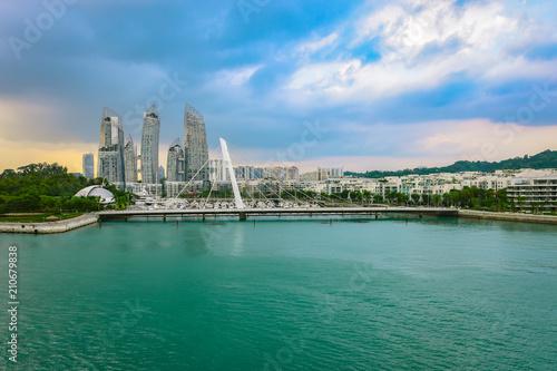 Keppel Bay, Singapore, Asia