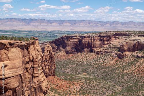 Fotobehang Zalm Colorado National Monument near Grand Junction, Colorado, USA