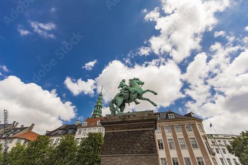 Bishop Absalon statue in Copenhagen, Denmark - 210696687