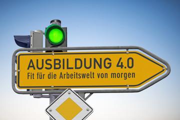 Signal auf Grün für die Ausbildung 4.0 Fit für die Arbeitswelt von morgen