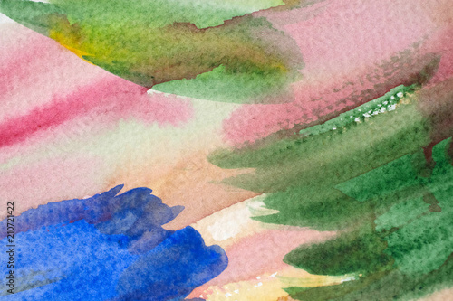 colorful watercolor grunge background