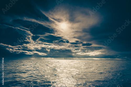 seascape sea horizon and sky. - 210729856