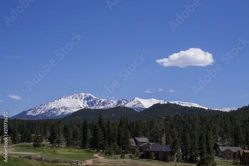 Aluminium Grijze traf. Rocky Mountains