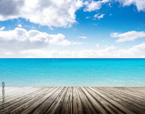 Tropikalna wyspa letniej plaży