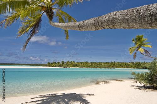 Aluminium Tropical strand Cook Islands Aitutaki