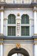 17th century Golden Gate (Long Street Gate), decorative facade, Gdansk, Poland
