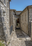 Road to the medieval village of Gesualdo - 210791621