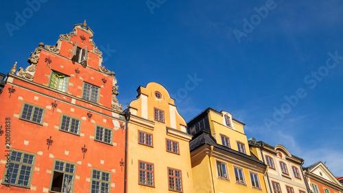 Foto Murales Stortorget buildings