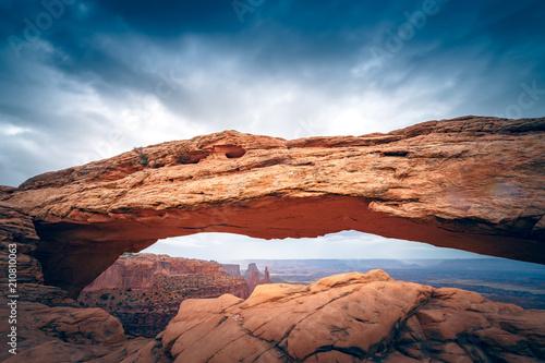 Fotobehang Zalm Mesah Arch 01