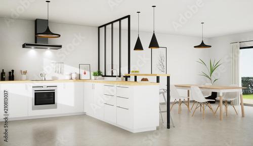 vue 3d cuisine 11-01 © sebastien