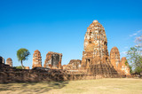 Ruins of the old city of Ayutthaya, Thailand