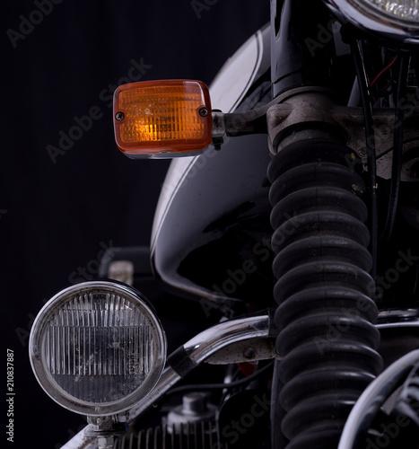 Plexiglas Fiets motorrad