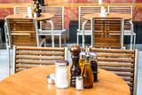 sidewalk restaurant - 210840049