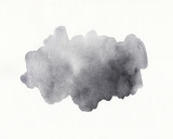 Watercolor gray background, dusty grey, sharkskin color trend
