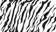stripe animals jungle bengal tiger fur texture pattern seamless repeating white black