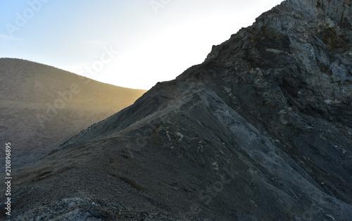 Aluminium Grijze traf. coastal hills of Baja California Sur, Mexico