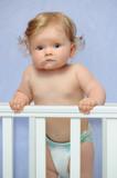 Cute baby girl - 210897225
