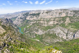 View of the Gorges du Verdon, France - 210899029
