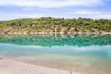 Lake in the Gorges du Verdon, France - 210899617