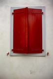 fenêtre rouge - 210903272