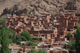 Red houses of Abyaneh village, Iran