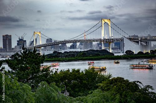 Rainbow bridge à Tokyo