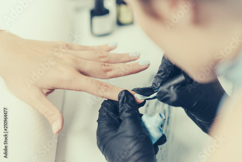Canvas Manicure Manicuring nails