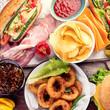 American food. Fast food - 210976496