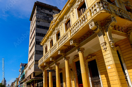 Architecture of Havana, the capital of Cuba