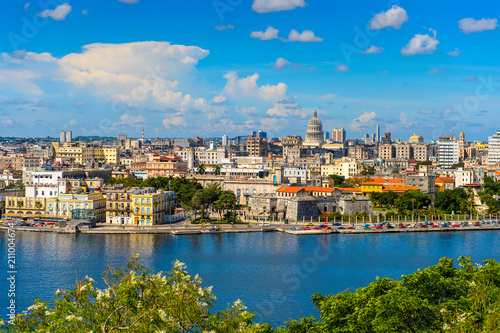Panoramic view of Havana, the capital of Cuba